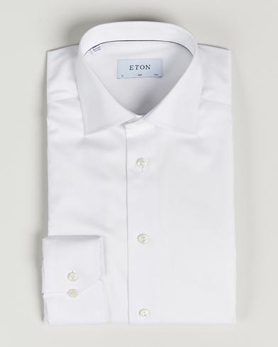 Chemise Eton Slim Fit Blanc