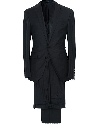 Polo Ralph Lauren Clothing Suit Charcoal