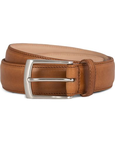 Loake 1880 Henry Leather Belt 3,3 cm Tan