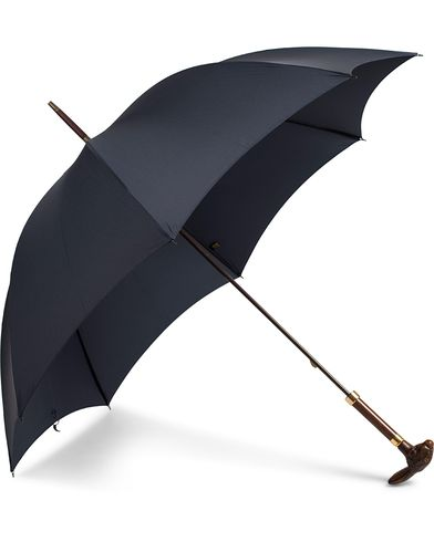 Fox Umbrellas Brown Rabbit Umbrella Navy
