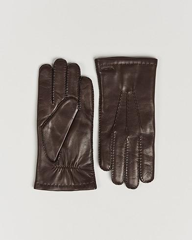 Hestra Edward Wool Liner Glove Espresso