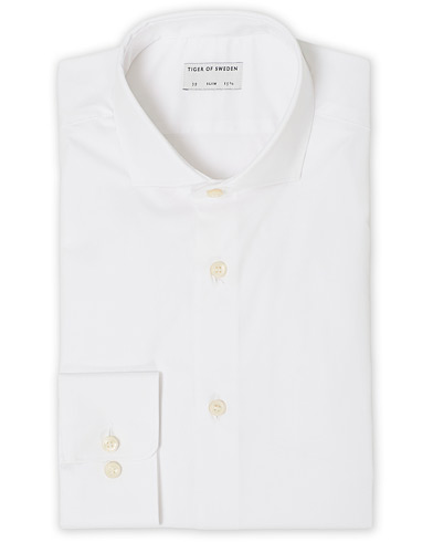 Tiger of Sweden Farell 5 Stretch Shirt White