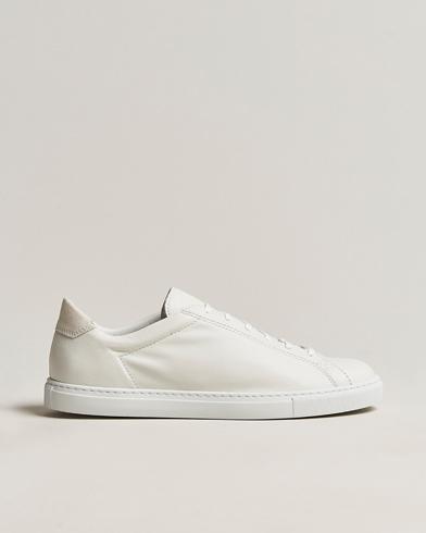 Sneaker de raquette C.QP en cuir blanc 40