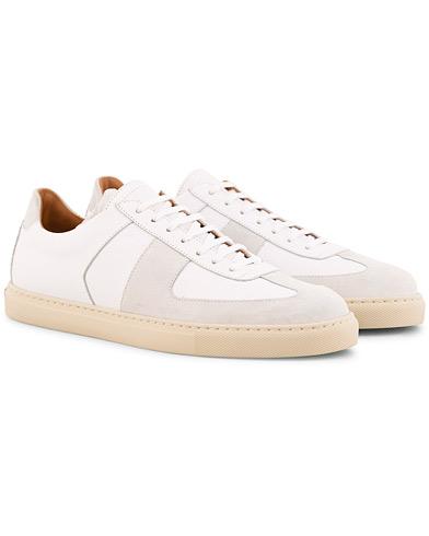 Sweyd Allumino Suede Sneaker Bianco