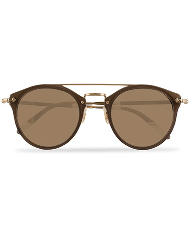 Oliver Peoples Remick Sunglasses Grey/Taupe Mirror