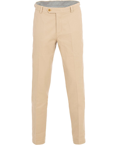 Brooks Brothers Milano Dyed Stretch Chino Khaki in der Gruppe Kleidung / Hosen / Chinos bei Care of Carl (16291311r)
