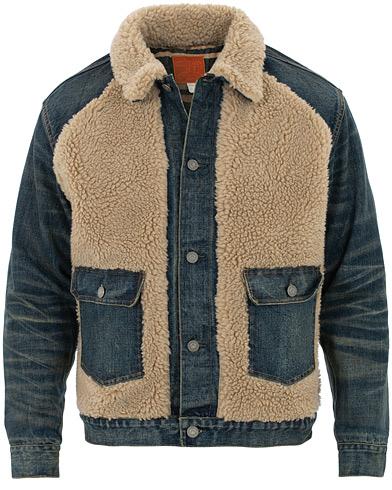 RRL Denim Grizzly Type I Jacket Indigo