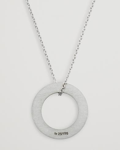 LE GRAMME Circle Necklace Le 2.5 Sterling Silver