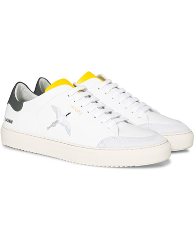Axel Arigato Clean 90 Triple Bird Sneaker White/Yellow/Grey in der Gruppe Schuhe / Sneaker bei Care of Carl (16743611r)