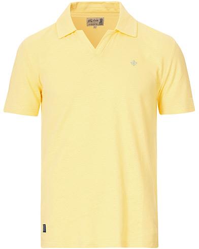 Morris Delon Cotton/Linen Pique Yellow