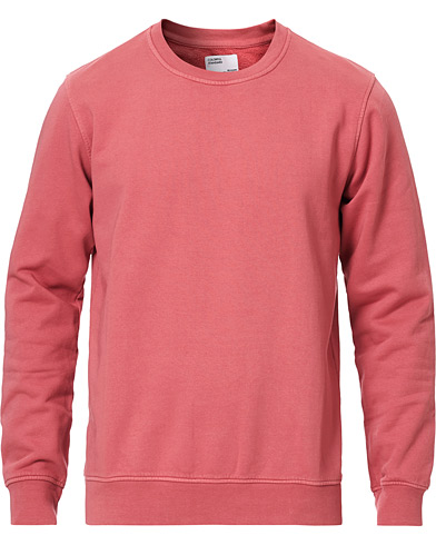 Colorful Standard Classic Organic Crew Neck Sweat Raspberry Pink in der Gruppe Kleidung / Pullover / Sweatshirts bei Care of Carl (16984211r)