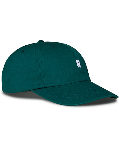 Norse Projects Twill Sports Cap Sporting Green  in der Gruppe Accessoires / Hüte & Mützen bei Care of Carl (17035110)
