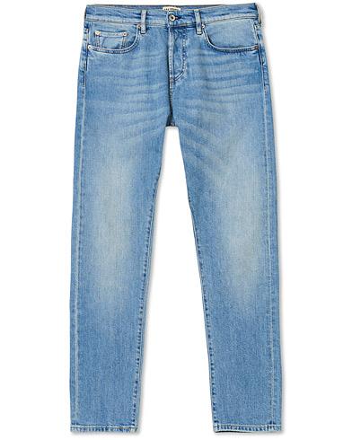 C.O.F. Studio M7 Tapered Stretch Jeans Light Blue