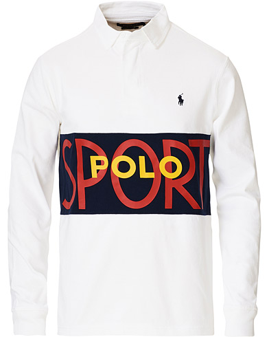 Polo Ralph Lauren Custom Slim Fit Retro Sports Rugger White in der Gruppe Kleidung / Pullover / Rugbypullover bei Care of Carl (17112011r)