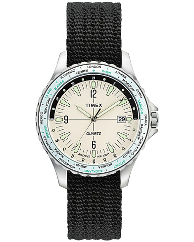 Timex Navi World Time Cream Dial  in der Gruppe Accessoires / Uhren bei Care of Carl (17154810)