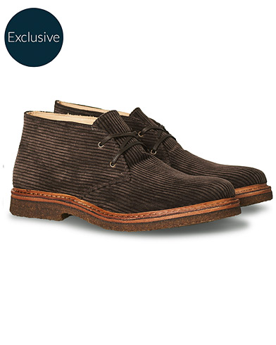 Astorflex Greenflex Desert Boot Dark Brown Corduroy in der Gruppe Schuhe / Stiefel / Chukka-Boots bei Care of Carl (19979111r)