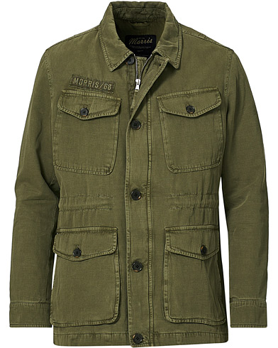 Morris Moorea Field Jacket Olive in der Gruppe Kleidung / Jacken / Feldjacken bei Care of Carl (20342111r)