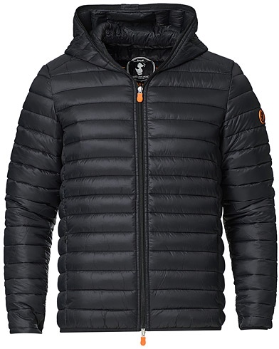 Save The Duck Donald Lightweight Padded Hooded Jacket Black in der Gruppe Kleidung / Jacken / Daunenjacken bei Care of Carl (20591611r)