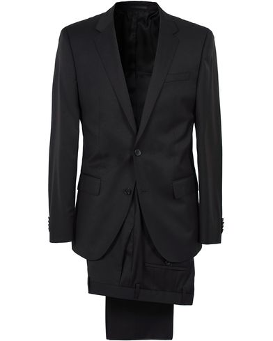 BOSS Hayes Regular Fit Wool Suit Black in der Gruppe Kleidung / Anzüge bei Care of Carl (SA000161)