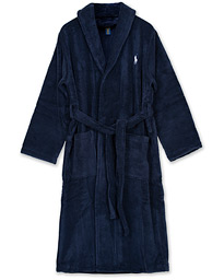 Shawl Robe Navy