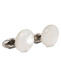 Stenströms Mother of Pearl Cufflink White