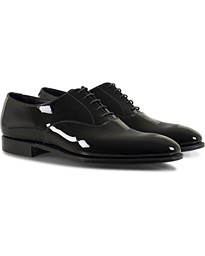 Crockett & Jones Overton Oxfords Black Patent