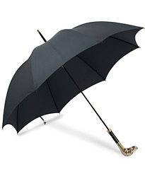 Silver Dog Umbrella Navy