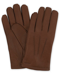 Edward Wool Liner Glove Chestnut