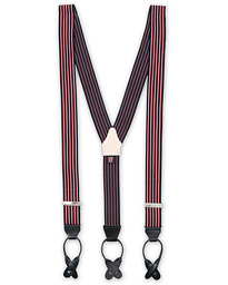Albert Thurston Striped Elastic Braces 35 mm Multi