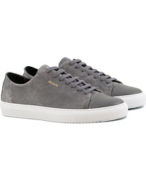 Cap Toe Sneaker Dark Grey Suede