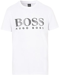 BOSS Logo Crew Neck Tee White