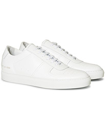 B Ball Sneaker White Calf
