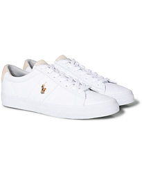 Polo Ralph Lauren Sayer Canvas Sneaker White