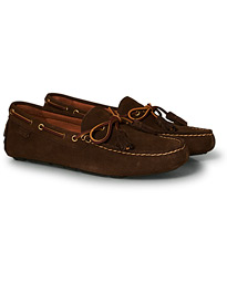 Polo Ralph Lauren Anders Tassel Driving Shoe Brown Suede