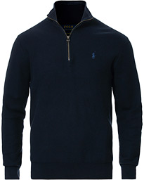 Polo Ralph Lauren Texture Half Zip Navy Heather