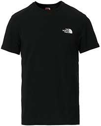 Simple Dome Crew Neck Tee Black