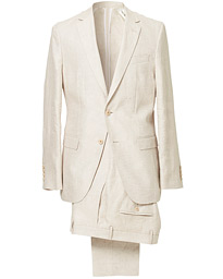 BOSS Nelin/Ben Vegan Linen Suit Nature