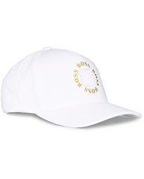 BOSS Athleisure Circle Cap White/Gold