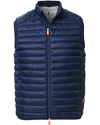 Save The Duck Lightweight Padded Vest Navy Blue