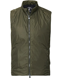 Save The Duck Lightweight Shiny Vest Dusty Olive