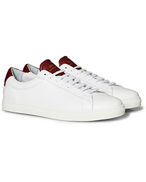 Zespà ZSP4 OG APLA Leather Sneakers White/Cerise