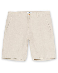 NN07 Crown Linen Shorts Oat