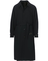 Belted Wool Coat Classic Black