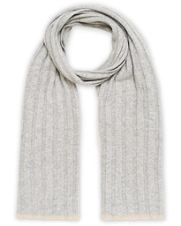 Cashmere Scarf Light Grey