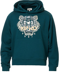 KENZO Icon Tiger Hoodie Green