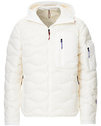 Ben Gorham Helium Hooded Jacket Off White
