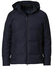 Oxygen Down Savile Jacket Dark Navy Wool