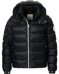 Arves Down Hooded Jacket Black