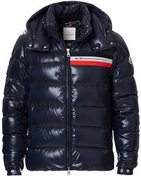 Moncler Mounier Hooded Down Jacket Navy