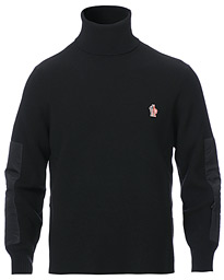 Moncler Grenoble Tech Down Rollneck Black